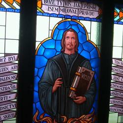 In the footsteps of master Jan Hus